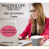 Florida - HEALTH & LIFE (INCLUDING ANNUITIES AND VARIABLE CONTRACTS) PRE-LICENSING COURSE (INS003FL60)
